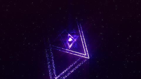 [alt video] Treangle VJ particles
