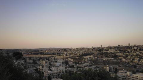 Sunrise time-lapse from the BYU Jerusalem center Footage