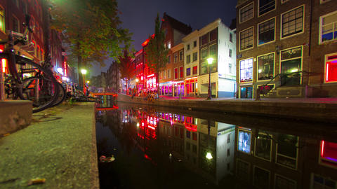 Red Light District - Amsterdam Footage