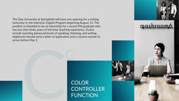 Stylish Blocks Corporate After Effects Template