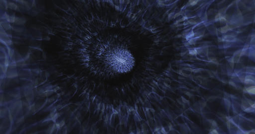 Abstract Particle Animation of psychedelic Pattern Animation