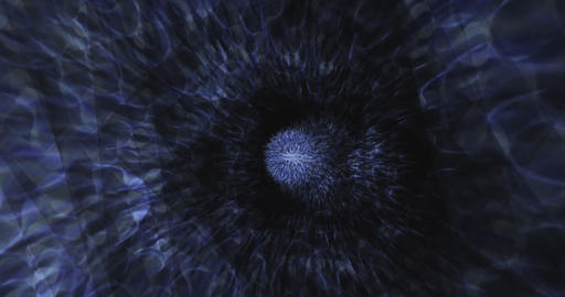 [alt video] Abstract Particle Animation of psychedelic Pattern