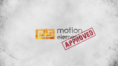 STAMP LOGO INTRO After Effects Template