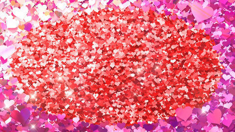 Glitter Heart Frame 2 Dh Pink Flash 4k Animation