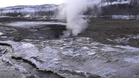 Haukadalur, Iceland, Europe Footage