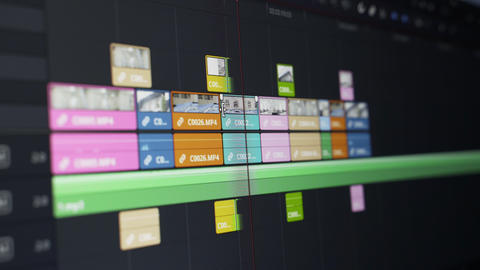 Video Editing Stock Video Footage
