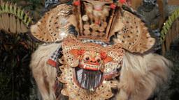Traditional balinese barong dance,Ubud,Indonesia Footage