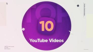 Top 10 Videos After Effects Template
