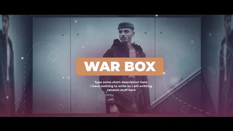 War Box After Effects Template