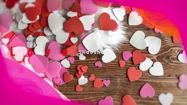 Slideshow Love 4K Plantilla de After Effects