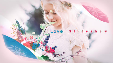 Slideshow Love 4K After Effects Template