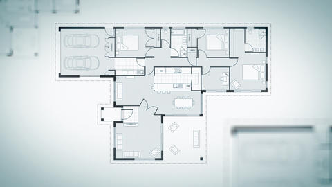 Architecture House Plans Animation