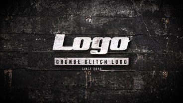 Cinematic Grunge Logo After Effects Template