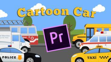 Cartoon Car Mini Pack Premiere Proテンプレート