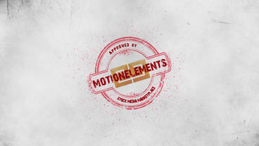 STAMP LOGO REVEAL Plantilla de After Effects