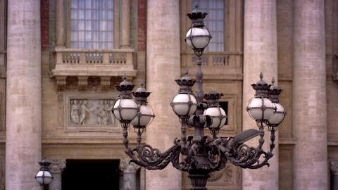 Streetlights and balcony Footage
