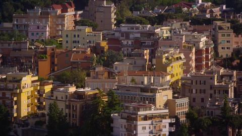 Multistoried buildings of Rome Footage