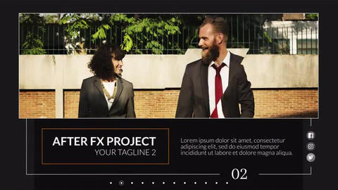 Business Smooth - Slideshow After Effects Template