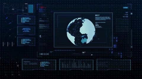 Hud infographics HiTech v7 noAlpha Animation