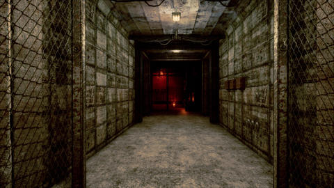 4K Atom Bunker Corridor and Control Room Cinematic 3D Animation Animation