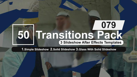 50 Transitions Pack -79 After Effects Template
