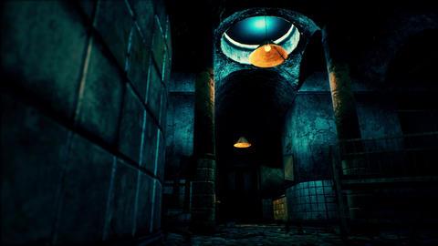 4K Scary Abandoned Asylum Low Angle POV Cinematic 3D Animation Animation