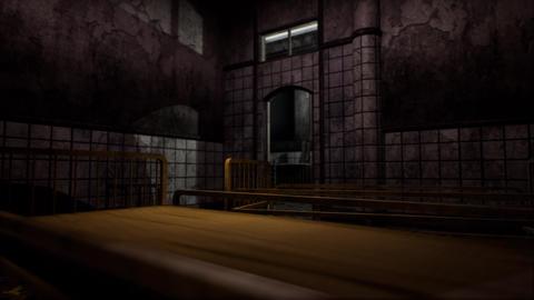 4K Scary Abandoned Hospital Room Cinematic 3D Animation Animation