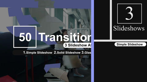 50 Transitions Pack -95 After Effects Template