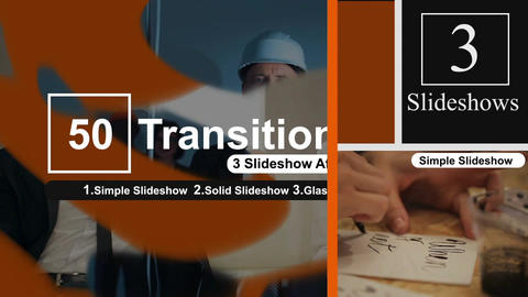 50 Transitions Pack -93 After Effects Template