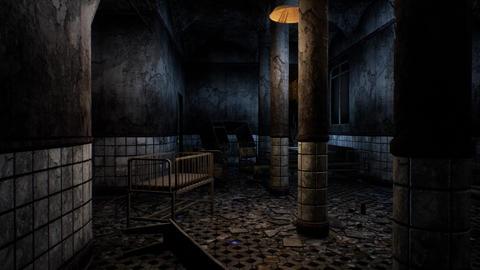 4K Horror Hospital Cinematic 3D Animation Animation