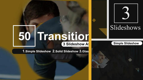 50 Transitions Pack -101 After Effects Template