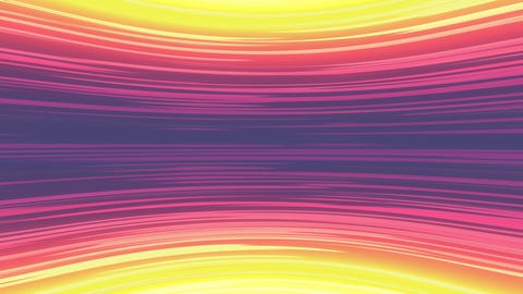 Anime Purple and Yellow Horizontal Motion Lines Animation
