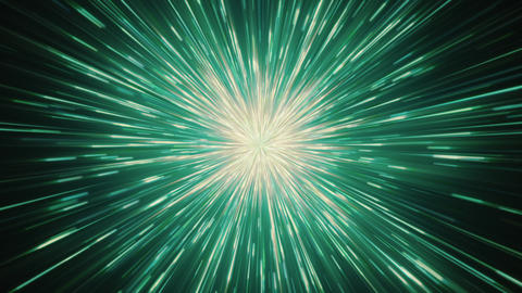 Green Speed Lines Background Animation
