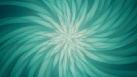 Subtle Radial Turquoise Petals Background Animation