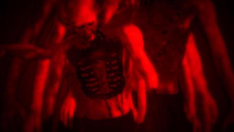 Zombies Surrealistic Concept 2 Animation