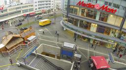 Wilmersdorfer Strasse in Berlin, Germany GIF