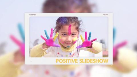 Positive Slideshow Premiere Pro Template