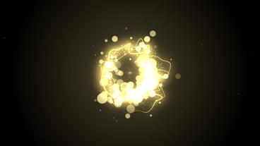 Circle Particles Logo After Effects Project
