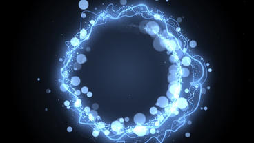 Circle Particles Logo After Effects Template