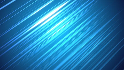 Visualization of light reflecting in the middle of a blue background Animation