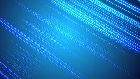 Visualization of light reflecting off horizontal lines on blue background Animation