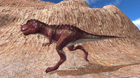 Tyrannosaurus 4K Animation
