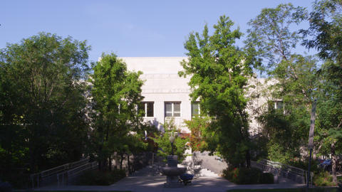 Static shot of Nevada state Attorney General's office building Footage