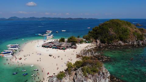 Island Koh Khai Nok in Thailand Footage
