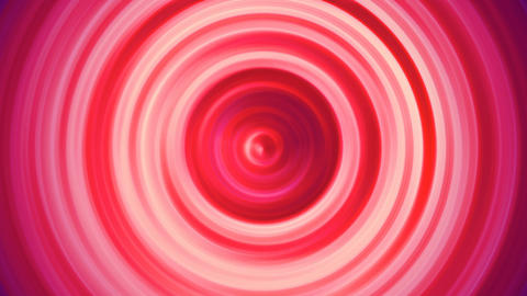 Red Circle Waves Background Animation