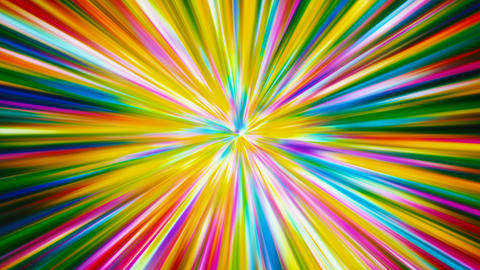 Colorful Lines Blast Background Animation