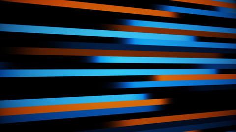 Blue Orange Digital Lines VJ Loop Abstract Motion Background Animation