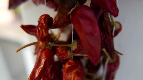 4K Chili Paprikas Macro Shot Stock Video Footage
