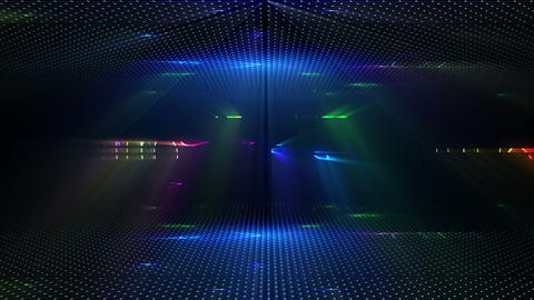 Abstract Lights Background CG動画素材