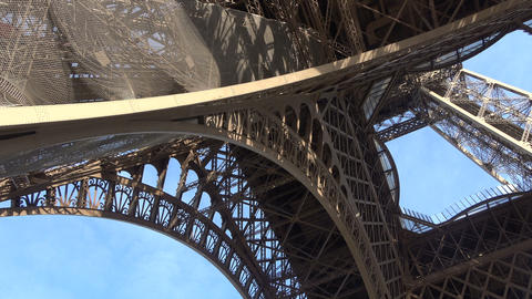 Bottom View of the Eiffel Tower 2 Live Action